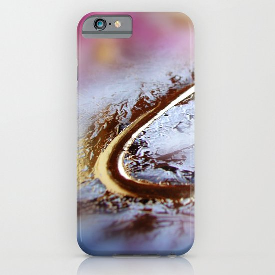 Abstract macro GOLDEN-PINK iPhone & iPod Case
