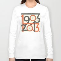 tour de france Long Sleeve T-shirts featuring 100 Years of The Tour de France by Dushan Milic