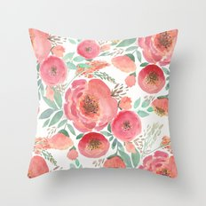 Floral pattern 5 Throw Pillow