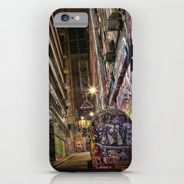 Graffiti Lane iPhone Case