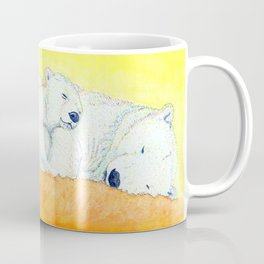 white bear Coffee Mug
