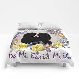 DA MI BASIA MILLE Comforters
