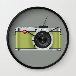 Leica X1 Camera Wall Clock