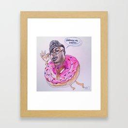 Sprinkle me, mayyyyn! Framed Art Print