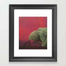 Prayer For Rain Framed Art Print