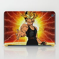 dragonball iPad Cases featuring Dragonball Z Trunks sketch colored by bernardtime