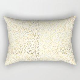 Gold Fleck modern art minimal trendy foil gold iphone cell phone case hipster brooklyn urban glitter Rectangular Pillow