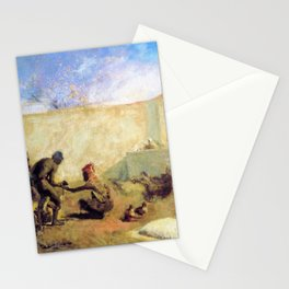 Moroccan Horseshoer - Digital Remastered Edition Stationery Cards