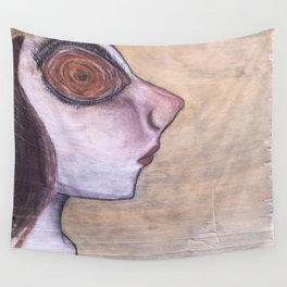 People in the Wood - Polly Wall Tapestry
