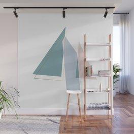 Geometric Minimalism Triangle Wall Mural