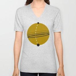 Elliptical Orbit Unisex V-Neck