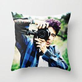 Luke Brooks Throw Pillow
