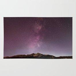 Milky Way Landscape Rug