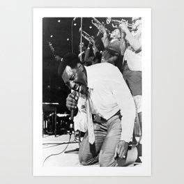 Otis Redding poster Art Print