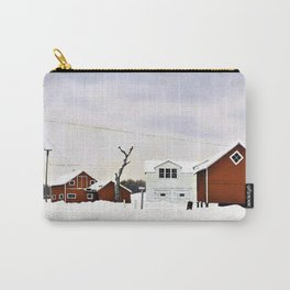 12,000pixel-500dpi - George Copeland Ault - Daylight at Russell's Corners - Digital Remastered Carry-All Pouch
