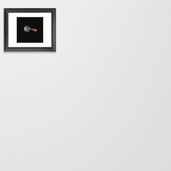 The Dark Side of the Moon Framed Art Print
