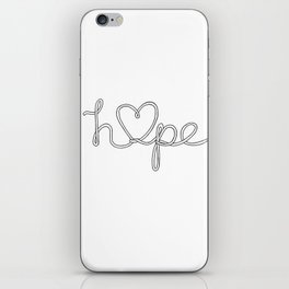 Hope. iPhone Skin