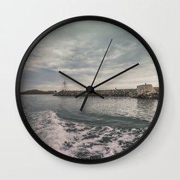 Boat trip in Howth, Ireland Wall Clock