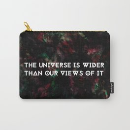 The Universe is Wider - Thoreau Carry-All Pouch