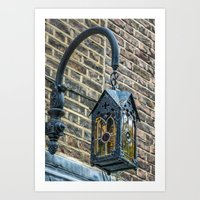 lantern Art Prints featuring Lantern by Travelling Dave