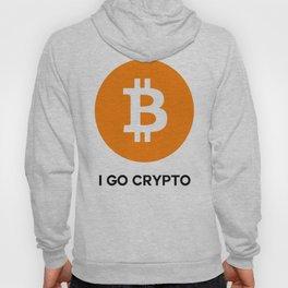Bitcoin - I GO CRYPTO Hoody