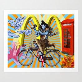 Cosmic Cycles Art Print