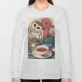 Morning Tea Owl Long Sleeve T-shirt