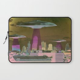 UFO Sightings- KC skyline Laptop Sleeve