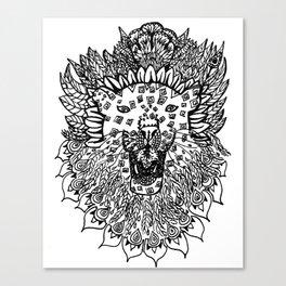 Jaguar Lion  Canvas Print