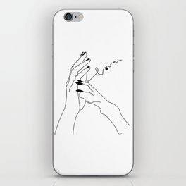 One in my wolf pack iPhone Skin