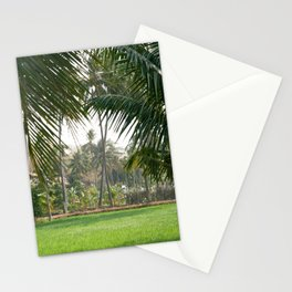 Exotic Palm Trees Stationery Cards