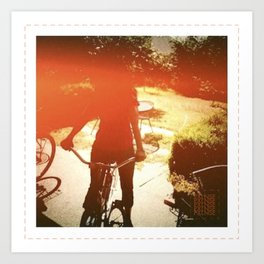 'LIL MISS SCHWINN-SHINE Art Print