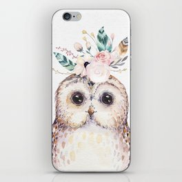 Forest Owl by Nature Magick iPhone Skin