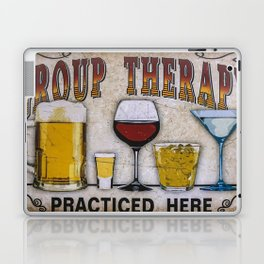 Group therapy practiced here Laptop & iPad Skin
