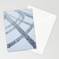 Tracks in the Snow Stationery Cards