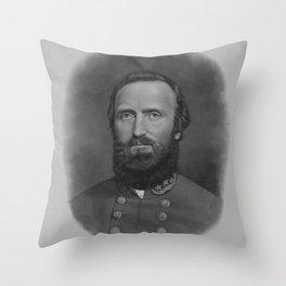 General Thomas Stonewall Jackson Throw Pillow
