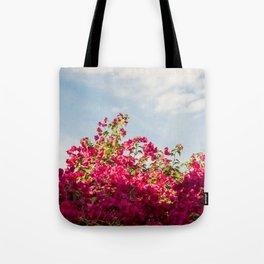 Flower Wall Art Tote Bag