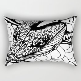 The serpent slayer Rectangular Pillow