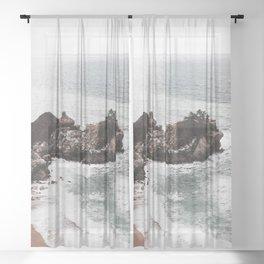 Wild Beach 2 Sheer Curtain