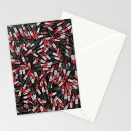 Full of lipsticks Stationery Cards