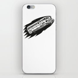 Fast bus iPhone Skin
