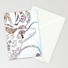 Deer Odd Stationery Cards