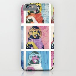 Celia Cruz Pop Art - The Immortal Queen of Salsa - Magical Realism iPhone Case
