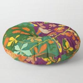 Hashiguchi Goyo - Yellow rose Floor Pillow