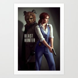 Beast Hunter Art Print