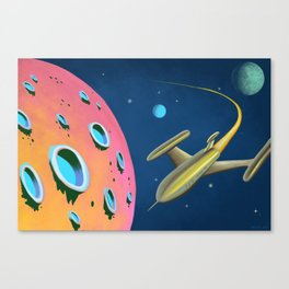 Fantastic Adventures in Outer Space Canvas Print