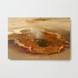 A Thermal Bubbel Hole Metal Print