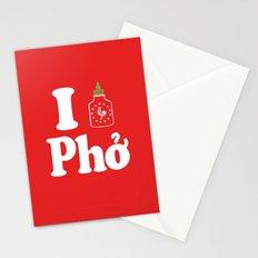 I Heart Pho Stationery Cards