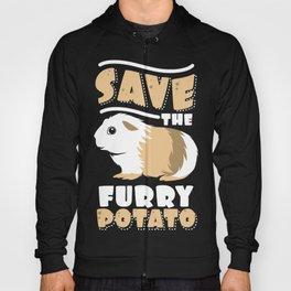 Furry Potato, Guinea Pig Funny Novelty Gift product Hoody