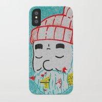 life aquatic iPhone & iPod Cases featuring Aquatic Life by Derek Eads